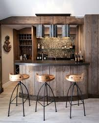 reclaimed wood bar cabinet rustic bar ideas home beach style industrial natural for reclaimed wood cottage