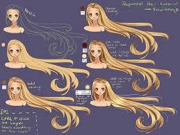 step by step rapunzel hair tutorial by saviroosje