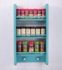 Wonderful Wall Hanging Spice Racks Bring Tidy Look In Your House