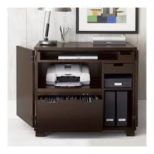 crate and barrel office furniture. Fancy | Incognito Mocha Compact Office In Filing Cabinets, Carts Crate And Barrel Furniture D