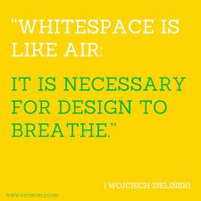 Necessary Design Whitespace In Design Ux Design World