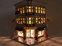lego lighting. This Guide Illustrates Several Methods For Using Brickstuff LED Light Strips To Illuminate Two LEGO® Lego Lighting D