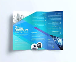 Two Page Brochure Template One Page Brochure Template Word One Page Brochure Template Word