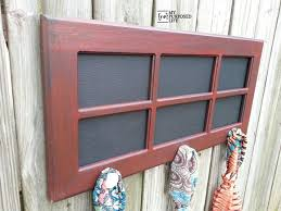 Old Door Coat Rack Remodelaholic 100 Ways to Use Old Doors 36