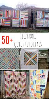 50 + Jelly Roll Quilt Tutorials - & over 50 jelly roll quilt tutorials. these are so cute. I'm ready Adamdwight.com
