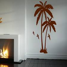 Small Picture Aliexpresscom Buy HUGE PALM TREE HALL BEDROOM WALL ART MURAL