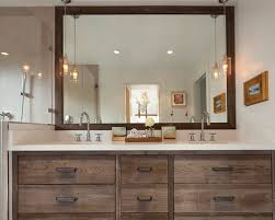 black red cabinets rustic bathroom inspiring saveemail bee  w h b p rustic bathroom