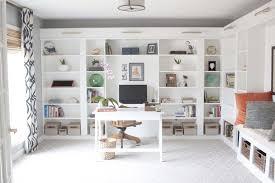 office book shelves. Nice Office Bookshelves Ikea Makeover Reveal | IKEA Hack Built In Billy Bookcases Book Shelves