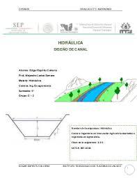 Diseño de canal