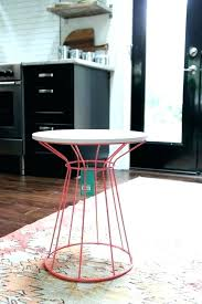 target white side table round side table target red table 4 house tweaking round white side target white side table