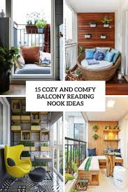 Reading Area Design Ideas 15 Cozy And Comfy Balcony Reading Nook Ideas Shelterness