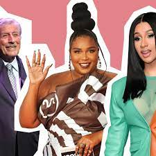 From Lizzo and Cardi B to Robert Plant ...