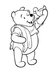 Mooi Kleurplaten Winnie The Pooh En Knorretje Klupaatswebsite