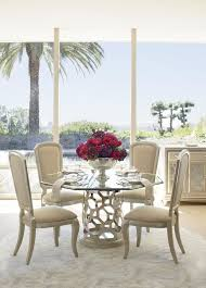 fancy round glass dining room tables with best 25 glass round dining table ideas on