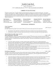 Analytical Chemist Resume Analytical Chemist Resume Analytical Chemistry Curriculum Vitae