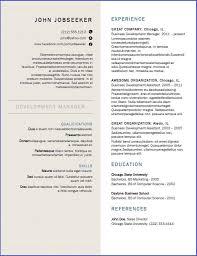 Canada Resume Template Resume Downloads Good Resume