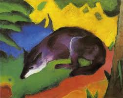 blue fox 1911 franz marc