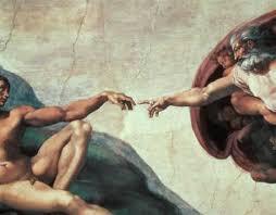 Buonarroti, Michelangelo: The <b>Creation of Adam</b> (1510)   The ...
