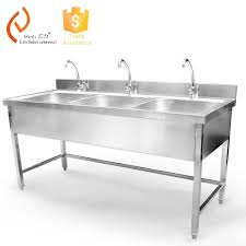 Stainless Steel Triple Bowl Kitchen Sink Buy Stainless Steel