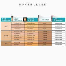 Maybelline Skin Tone Chart Maybelline Fit Me Concealer Color Chart Best Picture Of