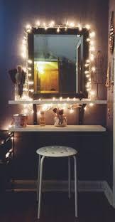 makeup vanity lighting ideas. diy vanity mirror with lights for bathroom and makeup station lighting ideas s