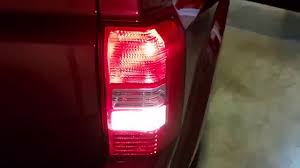 2007 2016 jeep patriot testing tail lights after changing bulbs brake turn signal reverse you