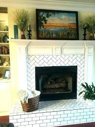 update gas fireplace gas fireplace surround ideas tile fireplace surround ideas herringbone pattern subway tile fireplace update gas fireplace
