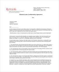 Employee Confidentiality Agreement 8+ Confidentiality Agreement Form Templates – Free Sample, Example ...