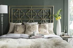 LUCINA FRENCH SILVER METAL HEADBOARD Lucinda French Silver Metal Headboard  HEADBOARDS. Color: French Silver