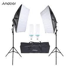 us stock photography studio lighting tent kit with 135w bulb umbrella softbox tripod stand softbox bag photo equipment charger