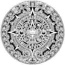 Mayan Calendar Coloring Pages Page 3 Coloring Pages