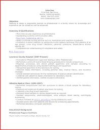 Best Of Phlebotomy Resume Types Of Letter