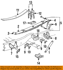 Dodge chrysler oem 95 02 ram 2500 rear suspension u bolt plate rh ebay corvette rear suspension diagram ford expedition rear suspension diagram