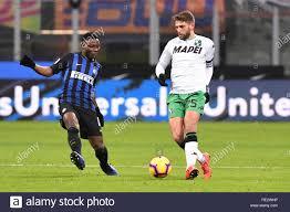 Foto Claudio Grassi/LaPresse 19 gennaio 2019 Milano (MI) Italia sport  calcio Inter vs Sassuolo - Campionato