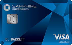 chase sapphire preferred registered trademark credit card