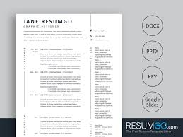 Klotho Simple And Creative Resume Template Resumgocom
