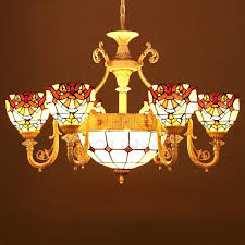 stained glass chandelier decorative 9 light stained glass chandelier for living room stained glass lighting canada stained glass chandelier