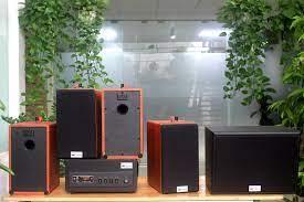 Chỉ 16,920,000đ - Loa cafe, Loa nhà hàng: Combo dàn âm thanh quán cafe  amply A501 +4 V31 + 01 trầm