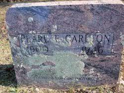 """Pearl Elizabeth """"Pearlie"""" Stephens Carlton (1900-1946) - Find A Grave  Memorial"""