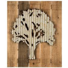 metal tree on wood pallet wall decor on wall art wooden tree with metal tree on wood pallet wall decor hobby lobby 1282383