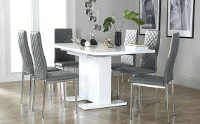 gray dining chairs excellent white table chairs white dining sets furniture choice within amazing modern gray
