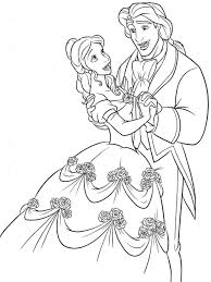 Small Picture beauty and the beast coloring pages Printable Free Coloring