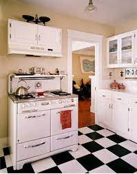 Black And White Kitchen Tiling Ideas Kitchen Tile Backsplashes Vintage Stoves White Kitchen Floor Black White Kitchen