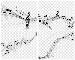Muscial Staff Musical Designs With Elements From Music Staff Treble Clef