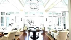 high ceiling lighting ideas chandelier traditional for tall ceilings chandeliers dining room sh