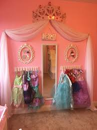 beautiful princess canopy bed. Princess Dress Up Storage Diy Cheap And Super Easy Frees Space By Putting The Beautiful Canopy Bed