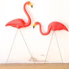 garden flamingos. Flamingos Lawn Ornaments Garden