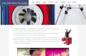 Grays Harbor Blower Door Testing | DataLink Computer Services