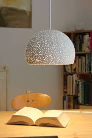 Paper lighting Minimal Paper Mache Pendant Light Glassbeads1 7 Mapetie Paper Mache Lighting Mapetie