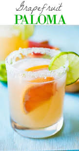 this gfruit paloma recipe is so refreshing and cly this easy to make tequila based
